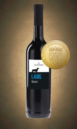 Sandwiese Wein LANG Merlot Sandwiese Wein Dackelwein Weingut Worms Familienweingut Familiengeführt Winzermeister Dackelweingut Dackel RAU LANG KURZ