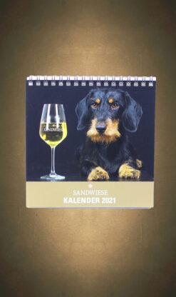 Sandwiese Dackelkalender Dackelweinkalender 2021