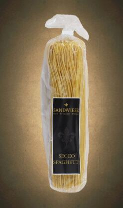 Secconudeln Seccospaghetti Sandwiese
