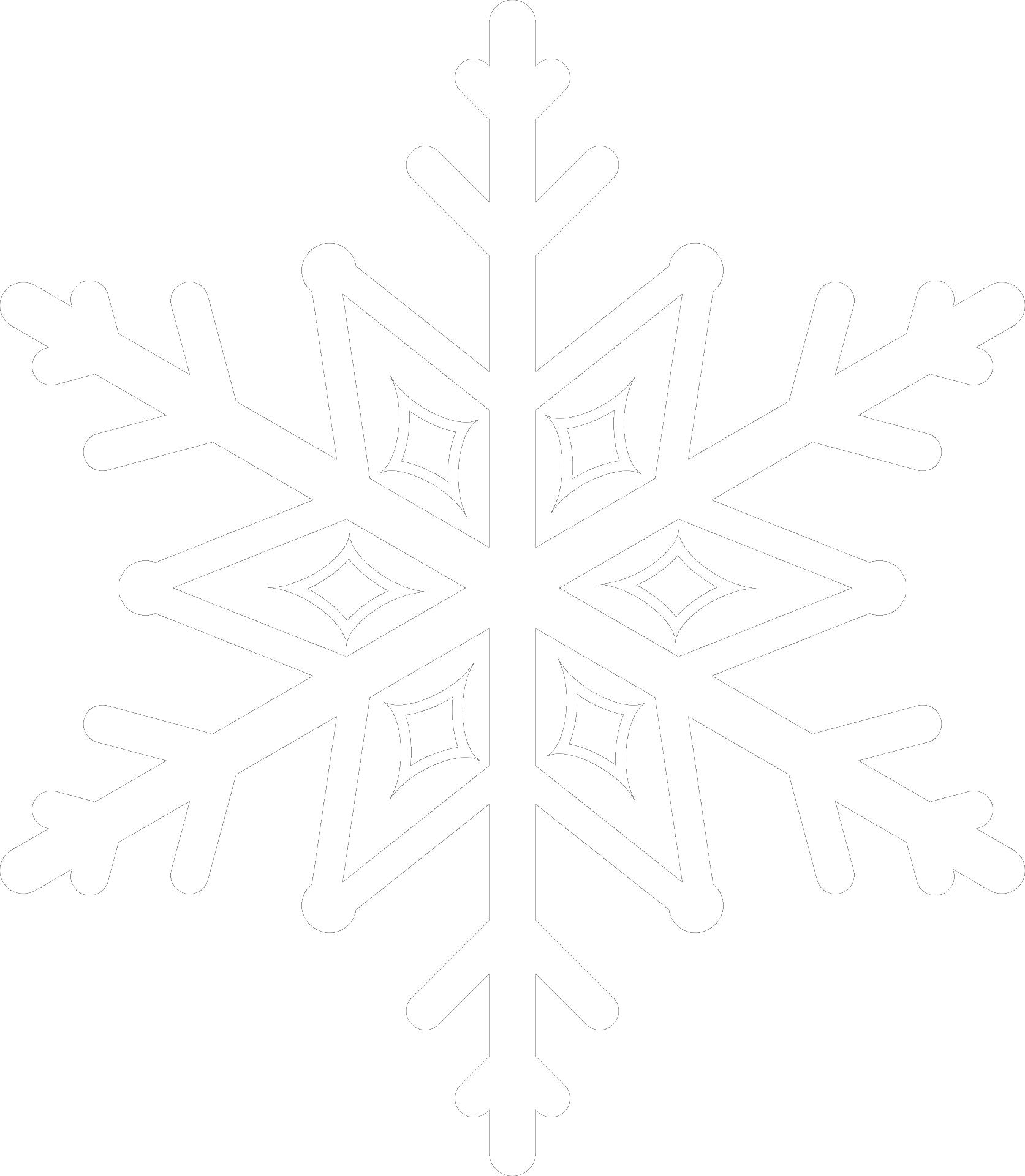 Schneeflocke Sandwiese