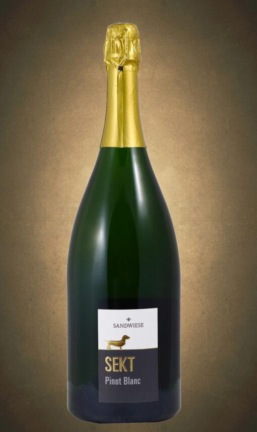 Magnum Pinot Blanc Brut traditionelle Flaschengärung